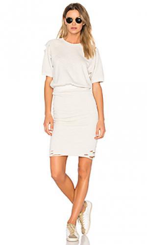 Платье gia NSF. Цвет: серый