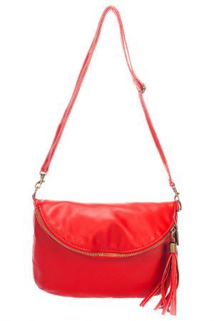 Клатч Lisa minardi. Цвет: red