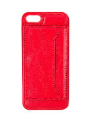 Чехол-визитница на iphone 5 JD.ZARZIS. Цвет: красный