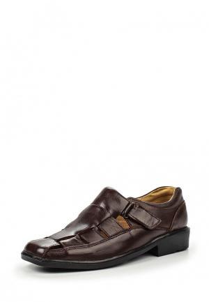Туфли Moza-X. Цвет: коричневый