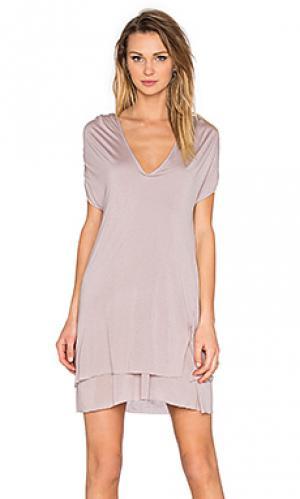 Платье sylvia LA Made. Цвет: серый