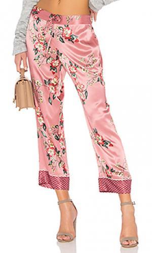 Широкие брюки reeda Joie. Цвет: rose