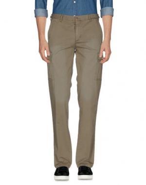 Повседневные брюки MARVILLE. Цвет: зеленый-милитари