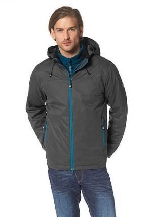 Функциональная куртка «3 в 1», Polarino. Цвет: антрацит