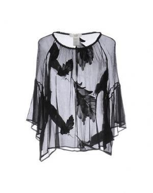 Блузка SUOLI. Цвет: черный