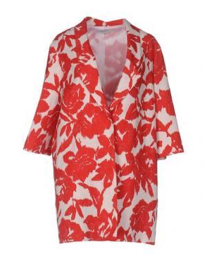 Легкое пальто BIANCOGHIACCIO. Цвет: красный