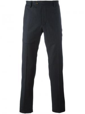 Прямые брюки Al Duca D'Aosta 1902. Цвет: синий