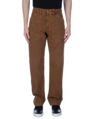 Повседневные брюки MURPHY & NYE. Цвет: коричневый