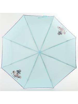 Зонт ArtRain. Цвет: морская волна, малиновый