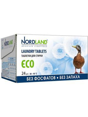 Nordland таблетки для стирки  24шт*33,75г.. Цвет: белый