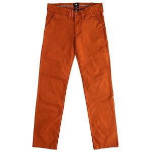 Штаны узкие детские DC Wrk Slm Chno By Ginger Bread Shoes. Цвет: коричневый