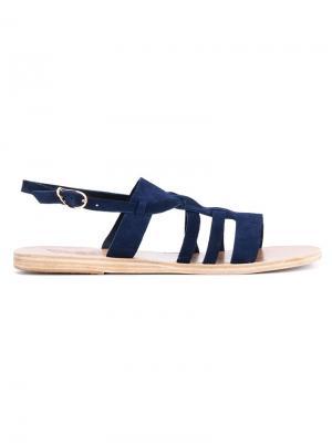 Сандалии Kallikratis Ancient Greek Sandals. Цвет: синий