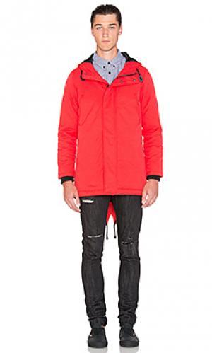 Куртка torpedo Black Scale. Цвет: красный