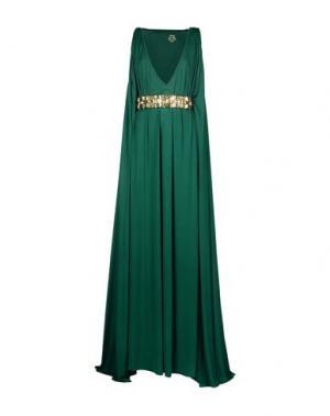 Длинное платье DSQUARED2. Цвет: изумрудно-зеленый