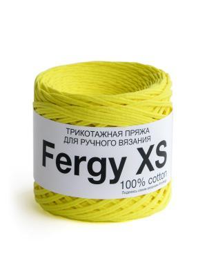 Пряжа Fergy XS. Цвет: желтый