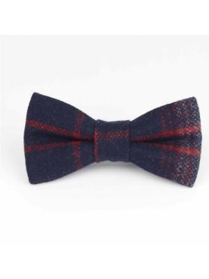 Галстук-бабочка Churchill accessories. Цвет: черный, темно-синий, синий, темно-бордовый, бордовый, коричневый, красный