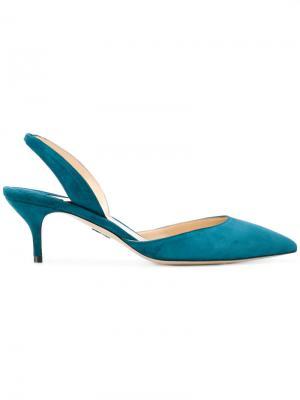 Туфли без задника Paul Andrew. Цвет: синий