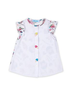 Блузка Бимоша. Цвет: белый