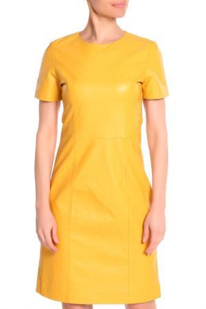 Платье Izeta Street. Цвет: желтый