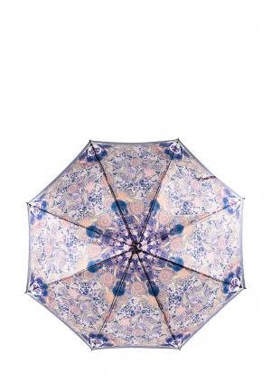 Зонт-трость Eleganzza. Цвет: фиолетовый
