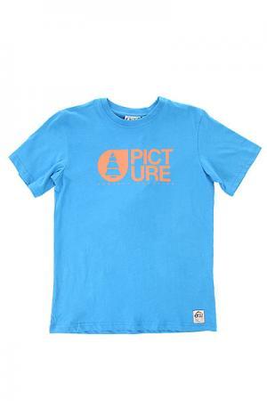 Футболка детская  Basement Blue Picture Organic. Цвет: синий