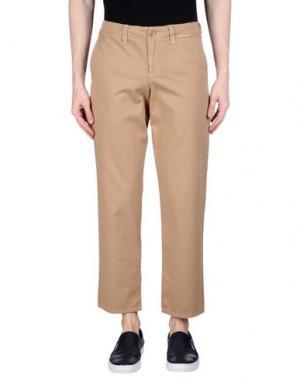 Повседневные брюки BLUE JAPAN. Цвет: хаки