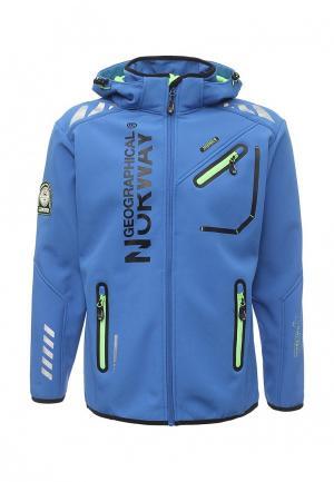 Куртка Geographical Norway. Цвет: синий