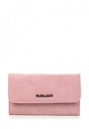 Кошелек Flora & Co. Цвет: розовый