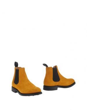 Полусапоги и высокие ботинки CHURCH'S. Цвет: охра