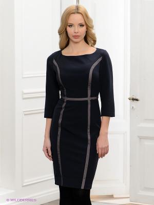 Платье BOVONA. Цвет: темно-синий