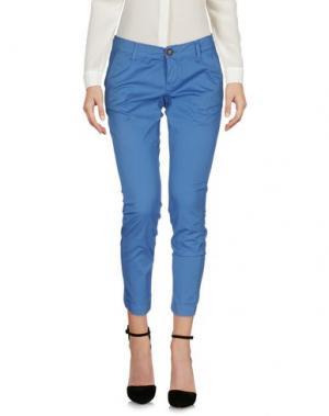 Повседневные брюки RRD. Цвет: синий