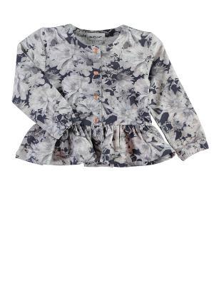 Блузка NAME IT. Цвет: серый