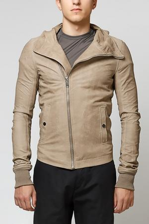 Куртка Rick Owens. Цвет: бежевый