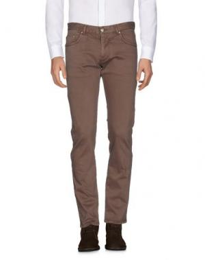 Повседневные брюки ALV ANDARE LONTANO VIAGGIANDO. Цвет: хаки