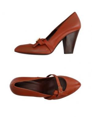 Туфли MEGUMI OCHI. Цвет: коричневый