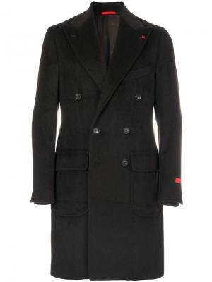 Пальто Ferdinando Isaia. Цвет: коричневый