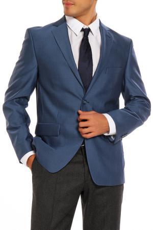 Пиджак VICTORS MART VICTOR'S. Цвет: серо-голубой, пиджак