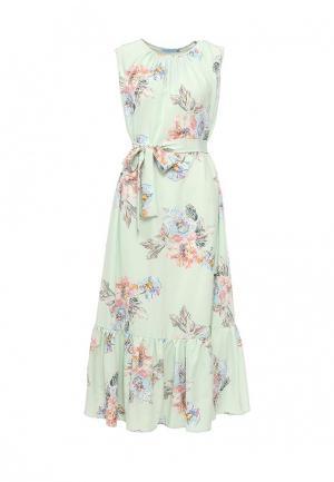 Платье Imocean. Цвет: зеленый