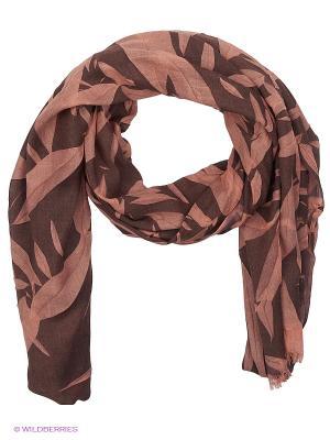 Палантин Moltini. Цвет: розовый, коричневый