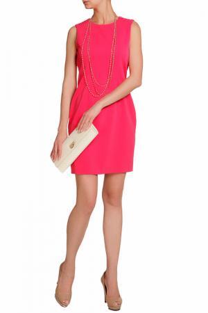Платье Elie Tahari. Цвет: розовый