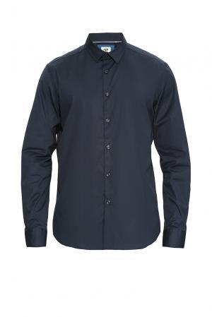Рубашка из хлопка 170445 Cr7 Cristiano Ronaldo. Цвет: синий