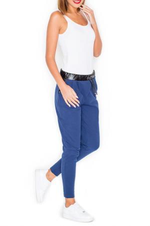 Pants KATRUS. Цвет: navy blue