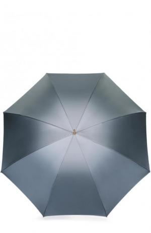 Зонт-трость Pasotti Ombrelli. Цвет: светло-серый