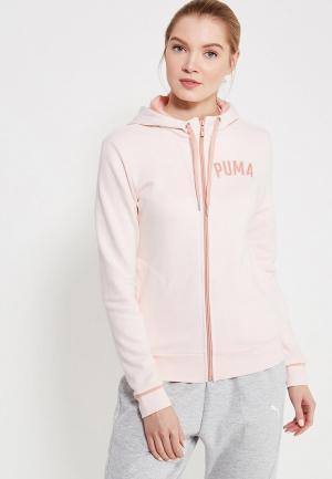 Толстовка PUMA. Цвет: розовый
