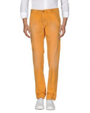 Джинсовые брюки MASON'S. Цвет: охра