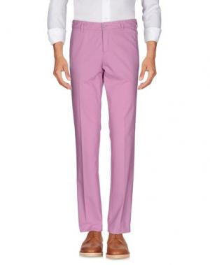 Повседневные брюки REPORTER. Цвет: розовый