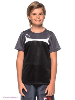 Футболка Esito 3 Training Jersey Puma. Цвет: черный
