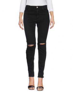 Джинсовые брюки FRANKLIN & MARSHALL. Цвет: черный