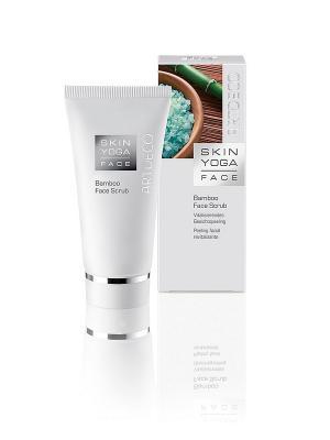 Пилинг для лица с натуральными частицами бамбукаBamboo Face Scrub, 50мл ARTDECO. Цвет: белый
