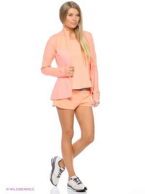 Куртка SN STORM JKT W Adidas. Цвет: светло-оранжевый